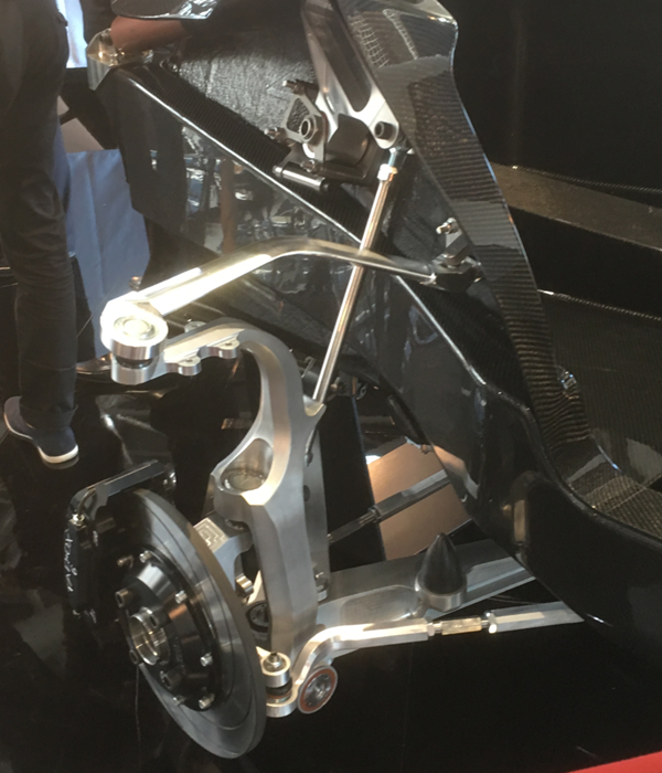 Aeromobil 4.0 Flying Car Full suspension view