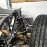 AutoSolo buggy front suspension with tyre