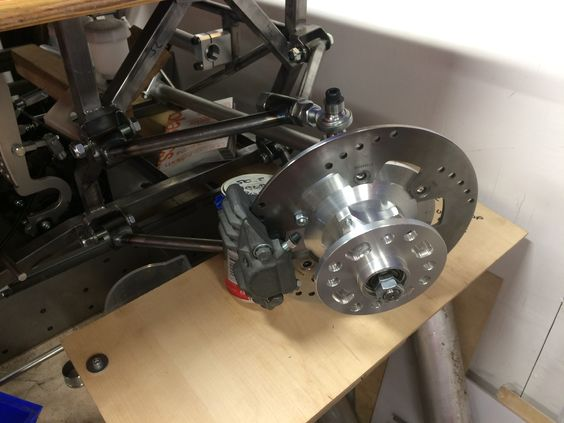 AutoSolo buggy front suspension