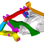 Arnage diff mounting CAD