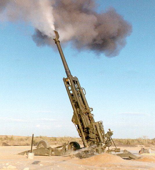 BAE Ultra-light Field Howitzer Firing