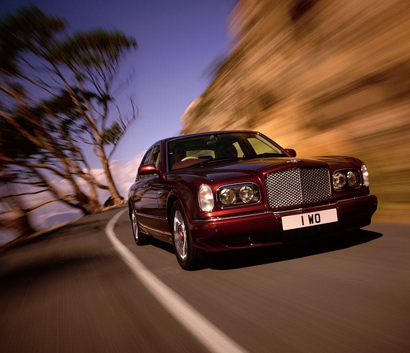 Bentley Arnage on road