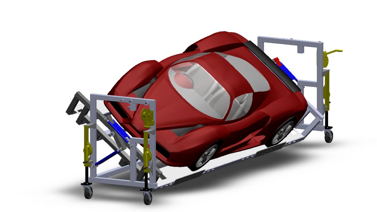 BotB rotating car trolley front render