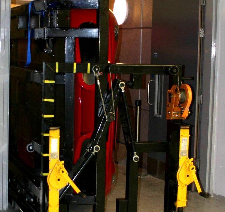 BotB rotating car trolley underside