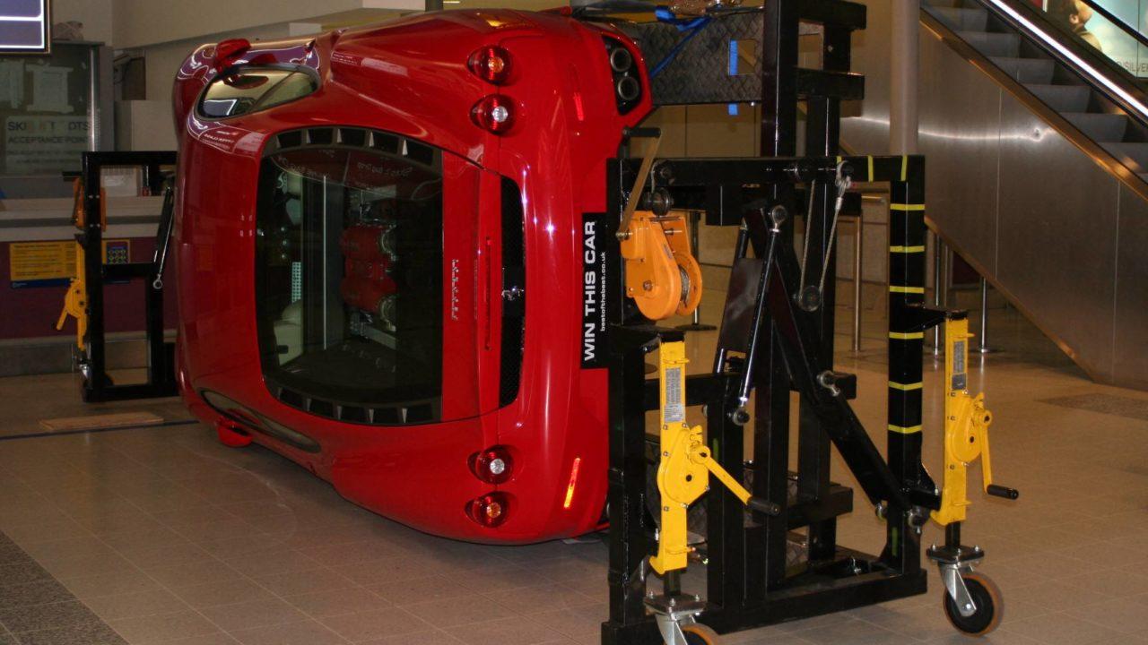 BotB rotating car trolley rear