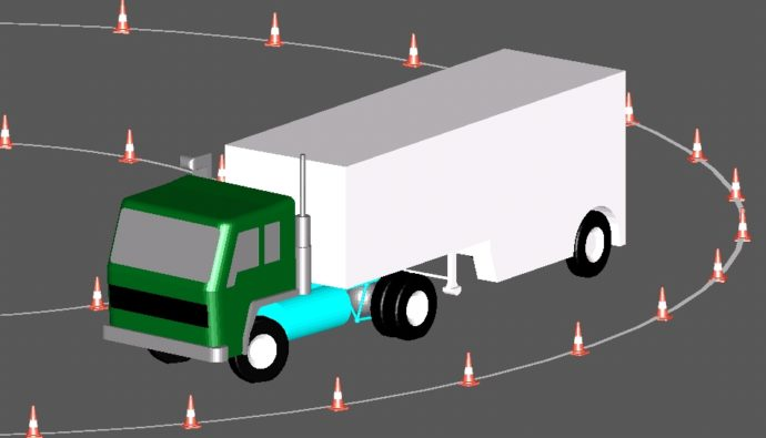 Cab trailer example sketch