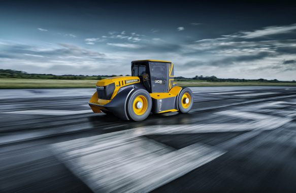 JCB Words Fastest Tractor