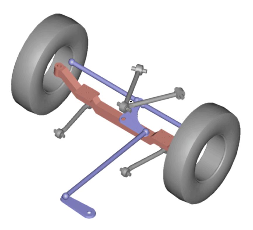 MCI Front suspension