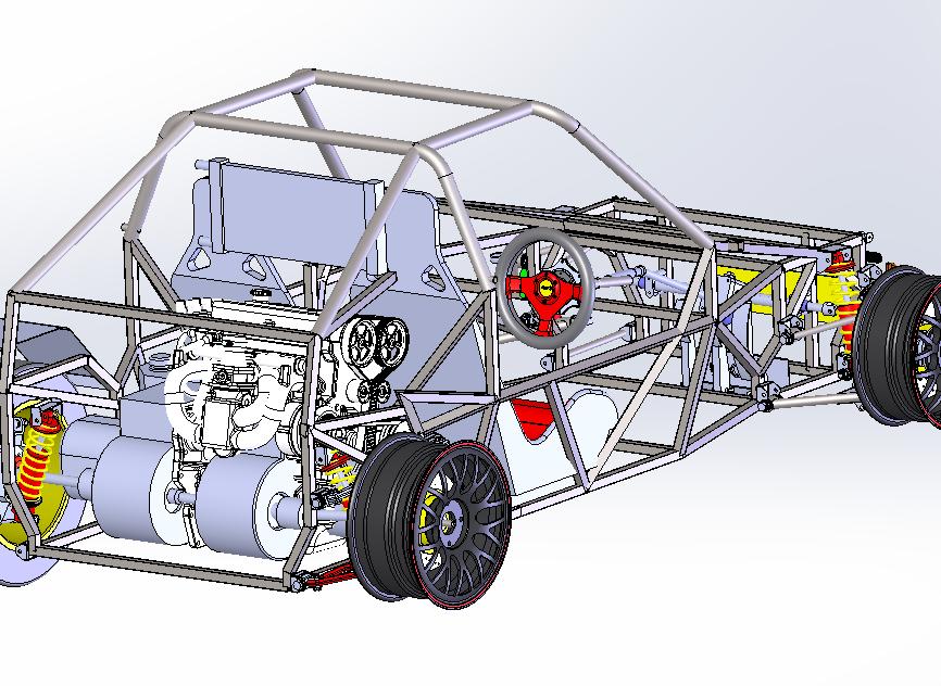 AS vehicle ASM CAD