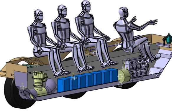 Amphibious vehicle concept