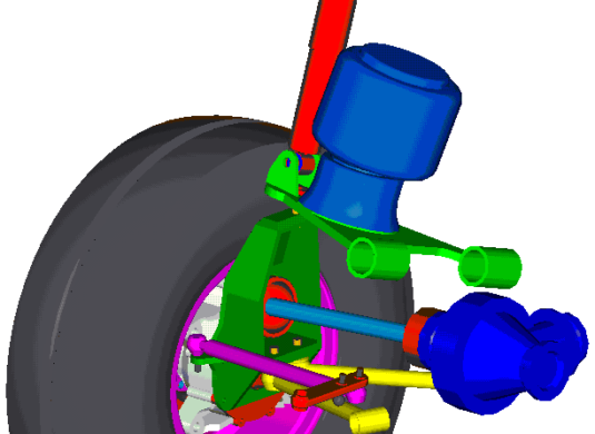 front suspension assy