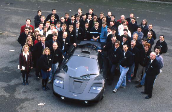 McLaren F1 team photo